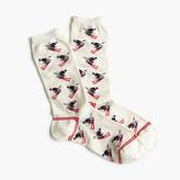 J.Crew Skier trouser socks