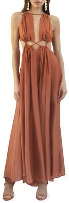 Cult Gaia Thera Cutout Maxi Dress