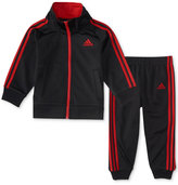 adidas 2-Pc. Track Jacket and Pants Set, Toddler Boys (2T-5T)