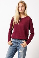 IRO Marvina L/S Holey Tee