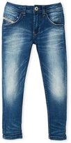 Diesel Boys 4-7) Slim-Tapered Stretch Jeans