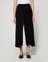 Black Crane Folding Pant
