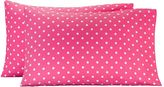 Dottie Pillowcases, Standard, Set of 2, Bright Magenta