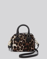 Tory Burch Crossbody - Robinson Leopard Print Calf Hair Shrunken Boxy