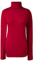 Classic Women's Tall Shaped Layering Turtleneck-Rich Sapphire