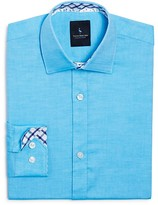 Tailorbyrd Boys' Twill Button-Down Shirt - Big Kid