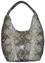 Nine West Beauty in The Details Python Embossed Large Hobo