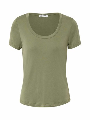 Pieces Women's Pckaitlin Ss U-Neck Top Noos Bc T-Shirt
