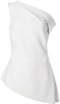 Rosetta Getty Cold Shoulder Blouse