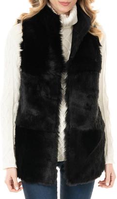 Fabulous Furs Chalet Faux Shearling Long Vest