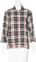 Raquel Allegra Plaid Button-Up Top