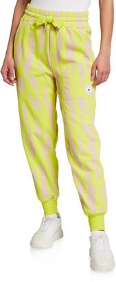 adidas by Stella McCartney Printed Drawstring Sweatpants