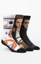Stance x Disney Star Wars The Force Awakens Three Pack Crew Socks