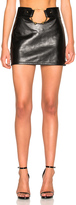 Anthony Vaccarello Central Piercing Mini Skirt
