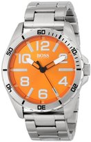 HUGO BOSS BOSS Orange Men's 1512942 Big Time Analog Display Quartz Silver Watch