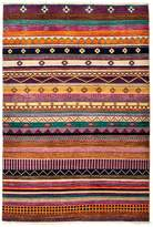 "Solo Rugs Tribal Oriental Area Rug, 4'2"" x 6'1"""