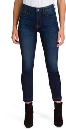 JEN7 by 7 For All Mankind Released Hem Ankle Skinny Jeans