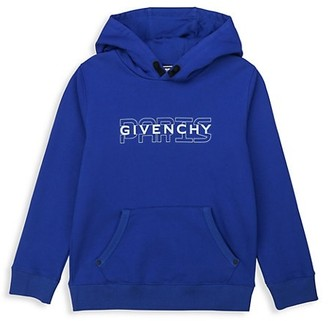 Givenchy Little Boy's & Boy's Embroidered Logo Hoodie
