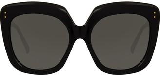 Linda Farrow Overzied Sunglasses