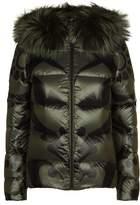Fendi Giant Brocade Puffer Jacket