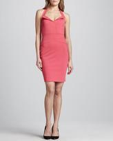 Zac Posen Sweatheart Halter Cocktail Dress