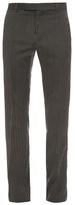 Lanvin Striped Slim-leg Wool Trousers