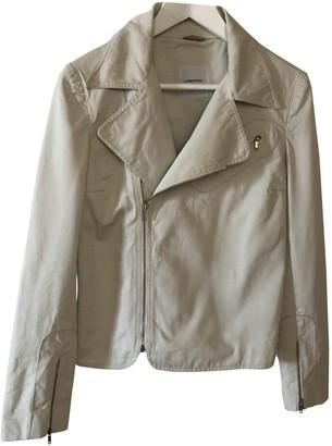 CNC Costume National Beige Cotton Jacket for Women
