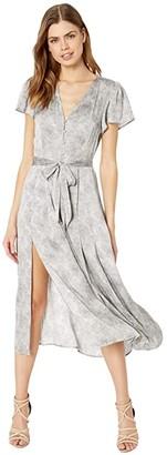 Paige Alayna Dress (Silver) Women's Dress