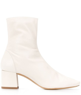 Roseanna zipped ankle boots