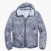 New Balance for J.Crew paisley windbreaker