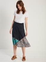 White Stuff Saving grace printed skirt