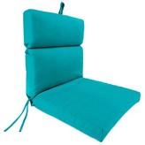 Beachcrest Home Indoor/Outdoor Adirondack Chair Cushion Fabric: Fresco Atlantis