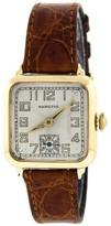 Hamilton Vintage 14K Yellow Gold Winder Unisex Watch