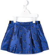 Kenzo 'Eyes' skirt - kids - Polyester/Acetate/Viscose - 3 yrs