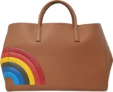 Anya Hindmarch Ebury Maxi Featherweight Rainbow bag