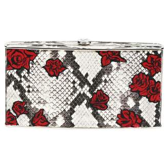 N. Non Signé / Unsigned Non Signe / Unsigned \N Red Leather Clutch bags