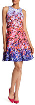 Maggy London Sunset Bloom Fit & Flare Dress