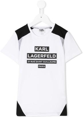 Karl Lagerfeld Paris printed T-shirt
