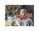 1art1® Posters: Paul Cézanne Poster Art Print - Still Curtain (14 x 11 inches)