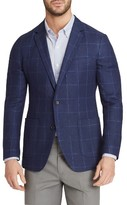 Bonobos Men's Trim Fit Windowpane Linen & Wool Sport Coat