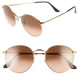 Ray-Ban Women's Icons 53Mm Retro Sunglasses - Blue/ Brown