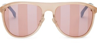 Fendi Botanical round frame sunglasses