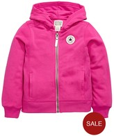 Converse Young Girls Rib Panelled Hoody