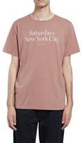 Saturdays NYC Miller Standard S/S Tee