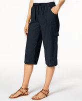 Karen Scott Edna Cotton Capri Pants, Created for Macy's