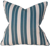 Barclay Butera Joel Stripe 22x22 Pillow, Blue