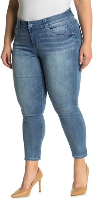 Democracy AB Tech Luxe Touch Skinny Ankle Jeans (Plus Size)