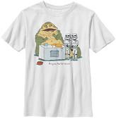 Fifth Sun Boys' Tee Shirts WHITE - Star Wars White 'Bring Me the Hot Sauce' Tee - Boys