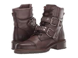 Frye Samantha Stud Hiker (Black) Women's Boots
