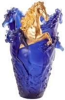 Daum Horse Vase
